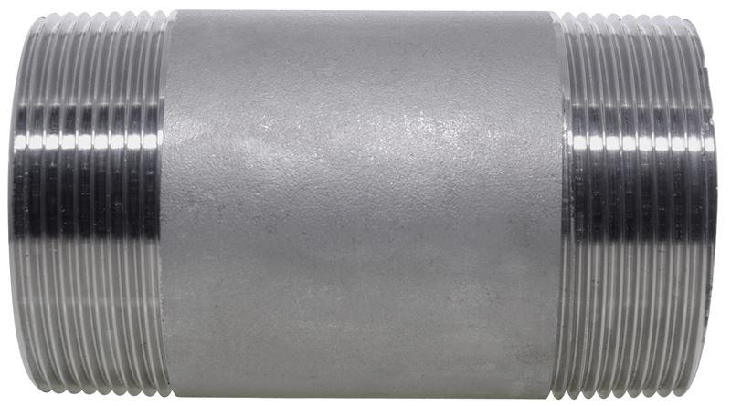 Barrel nipple npt lb stainless steel