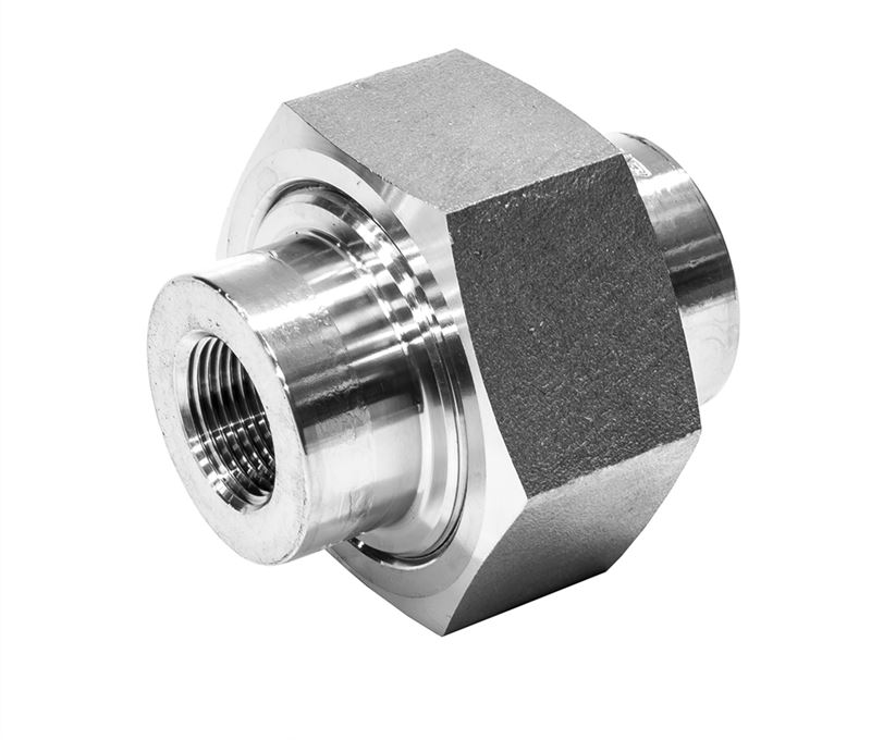 Union conical female npt lb stainless steel