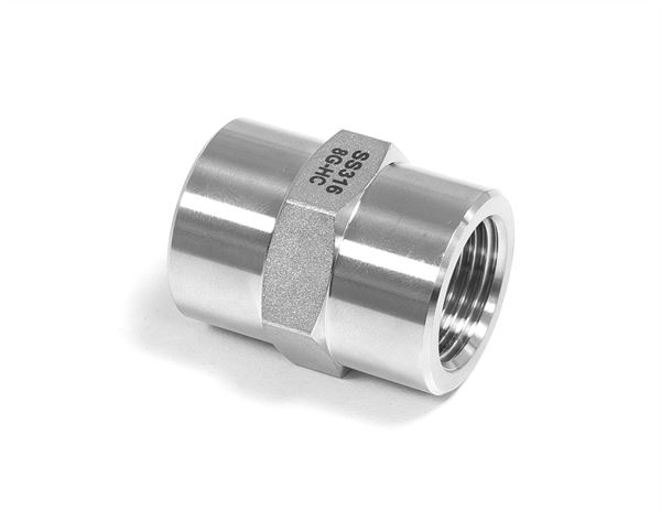 BSPP Hexagon Grip Socket Hydraulic 316 Stainless Steel