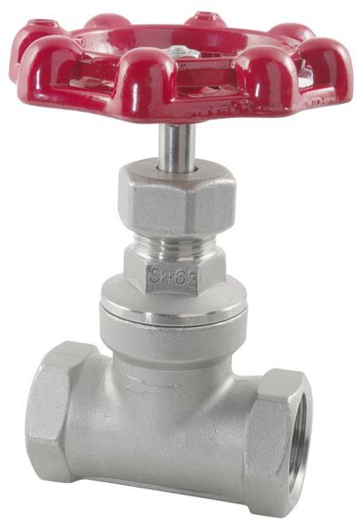 Gate Valve BSPP 316 Stainless Steel