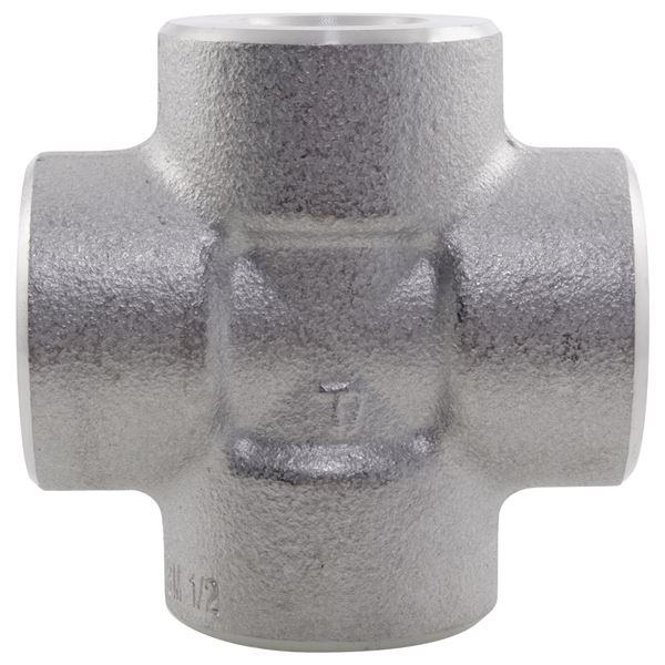 NPT Equal Cross 3000LB 316 Stainless Steel