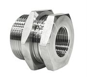 Female Hydraulic Bulkhead BSPP 316 Stainless Steel