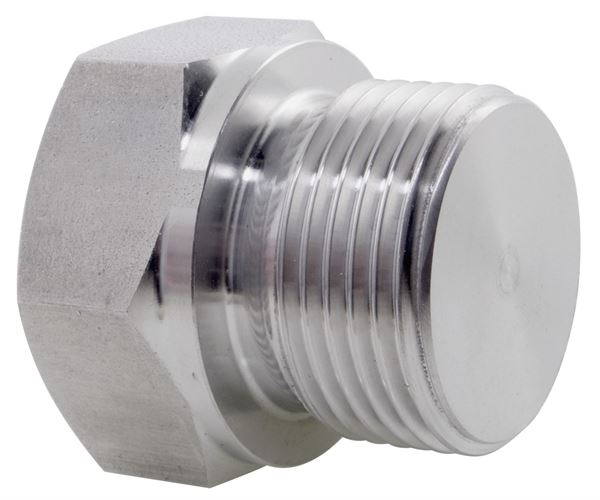 Hexagon Plug BSPP 316 Stainless Steel