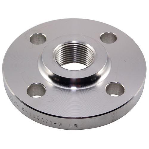 Pn16 4 Npt Threaded Flange 316l Stainless Steel Nero