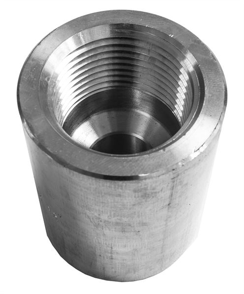 NPT Reducing Coupling 3000LB 316 Stainless Steel