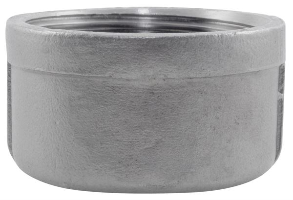 NPT Round Cap 150LB 316 Stainless Steel