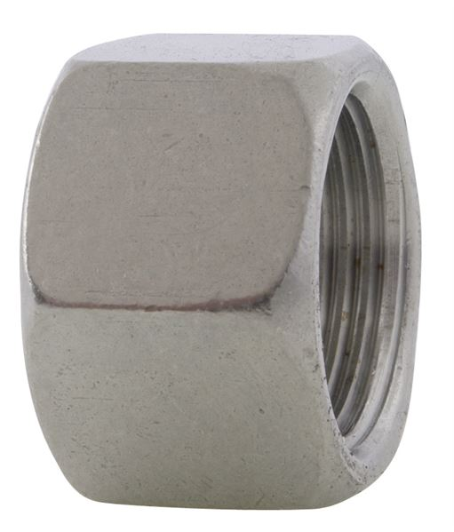 Compression Nut Single Ferrule 316 Stainless Steel