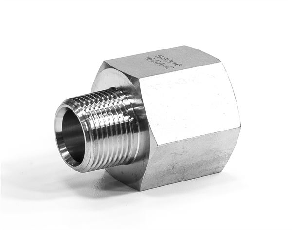 Hydraulic Reducing Adaptor Female/Male NPT 316 Stainless Steel