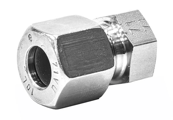 Cap Single Ferrule Compression 316 Stainless Steel