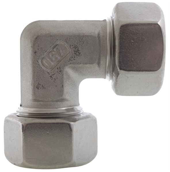 Equal Elbow Single Ferrule Compression 316 Stainless Steel
