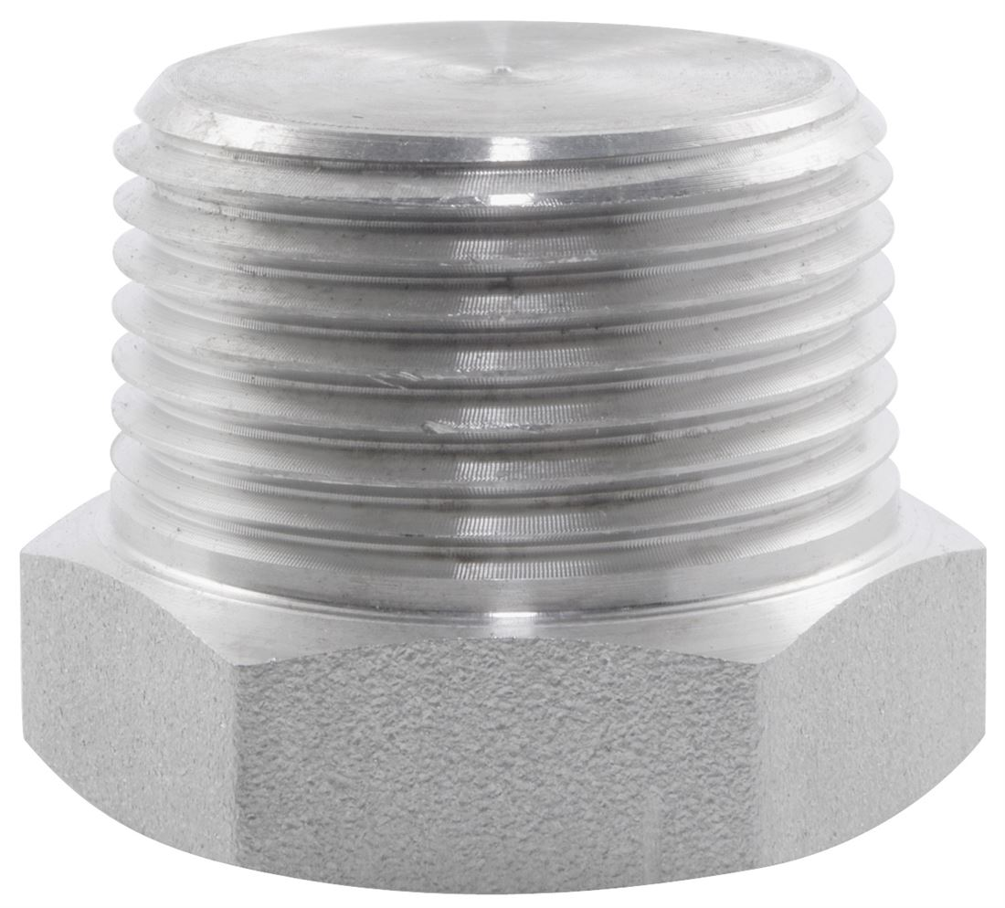 Bspt Hexagon Plug 6000lb 316 Stainless Steel Nero