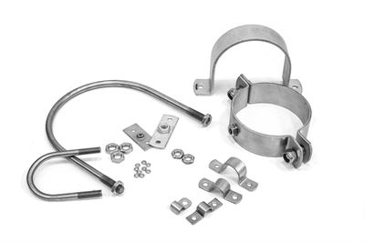 Tube & Pipe Clamps & Bolts Stainless Steel
