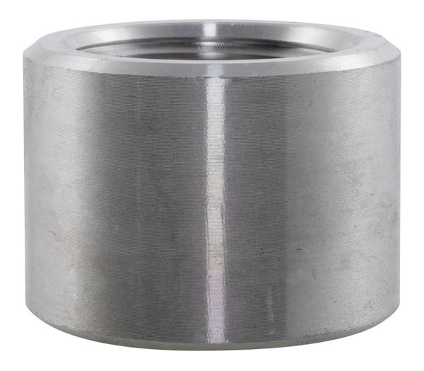 NPT Half Coupling 3000LB 316 Stainless Steel