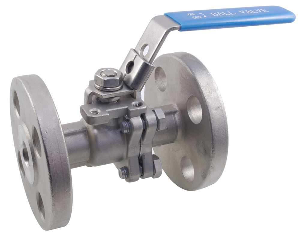150LB Two Piece Flanged Full Bore Ball Valve CF8M 316 Stainless Steel - NERO Pipeline ...